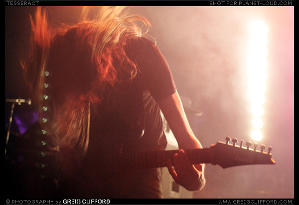 """Metal"", from TesseracT - playing live at Concorde 2, Brighton"