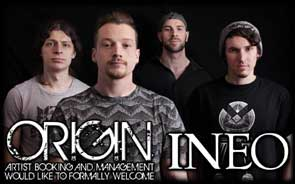 My band portrait of INEO used on the Origin Agency website.