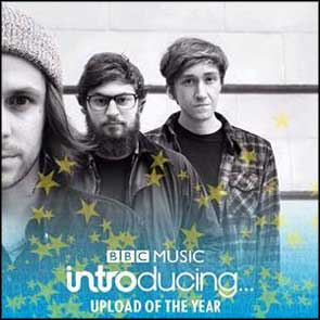 My band portrait of Black Foxxes used on BBC Introducing 'upload of the year' promotional image.