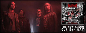 My band portrait of The Bleeding used for album pre-release advert.