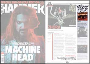 My band portrait of Core of iO accompanying their 'New Noise' article in Metal Hammer.