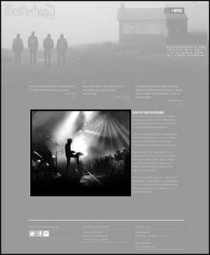 Live image of Brotherhood Of The Lake used for the band's website homepage.