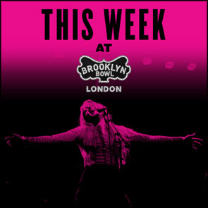 Photo of Jo Harman used by Brooklyn Bowl for an advert