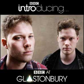 Band portrait of Gallery Circus for BBC Introducing's online Glastonbury coverage.