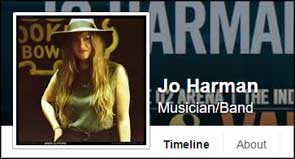 Portrait of Jo Harman used for her Facebook profile pic.