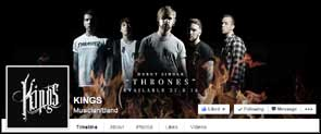 Portrait of Kings used for their facebook cover pic.