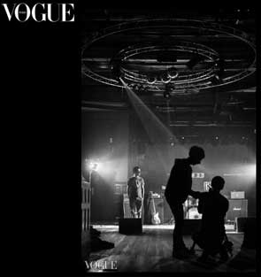 Photo selected by Vogue Italia for my portfolio on the PhotoVogue section of their website.