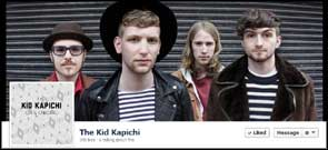 Promotional portrait of The Kid Kapichi used for their Facebook cover pic.